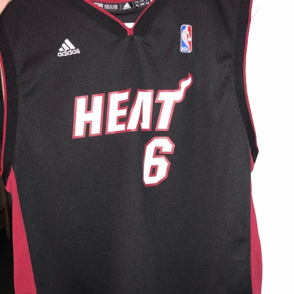 finest selection 555a3 c426c Lebron James Miami Heat Adidas Jersey